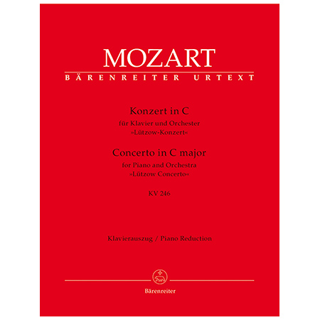 Mozart, W. A.: Klavierkonzert Nr. 8 KV 246 C-Dur »Lützow-Konzert«