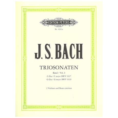 Bach, J. S.: Triosonaten Band 1