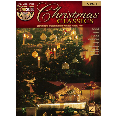 Beginning Piano Solo Play-Along: Christmas Classics (+CD)