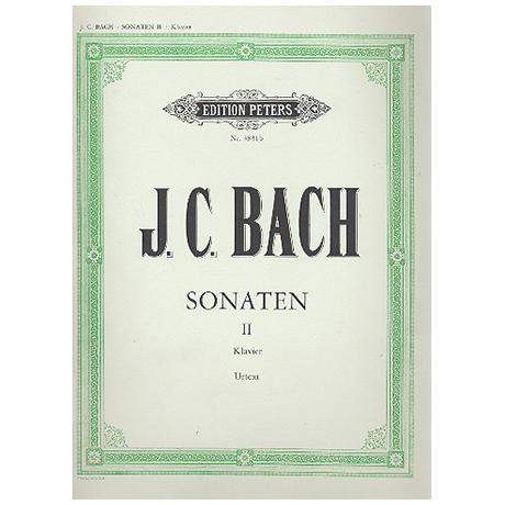 Bach, J.Chr. (1735-1782): 10 ausgewählte Sonaten Band II