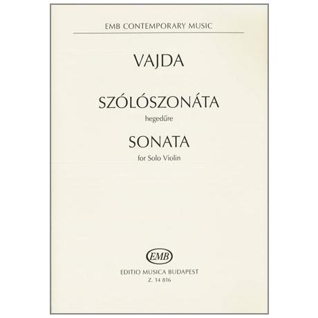 Vajda, J.: Sonata