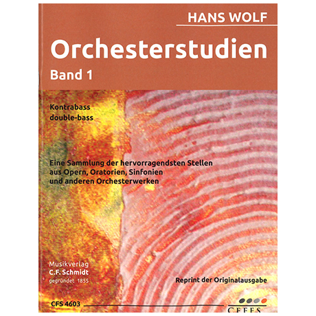 Wolf, H.: Orchesterstudien Band 1