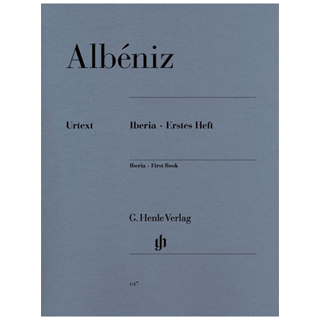 Albéniz, I.: Iberia – Erstes Heft