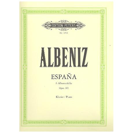 Albéniz, I.: Espana, 6 Albumstücke Op. 165