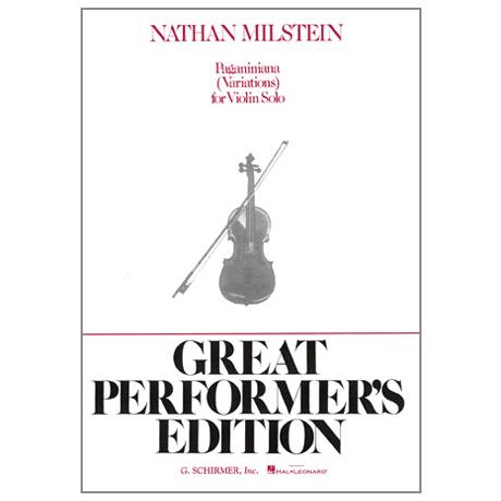 Milstein, N.: Paganiniana – Variationen über Caprice Op. 1