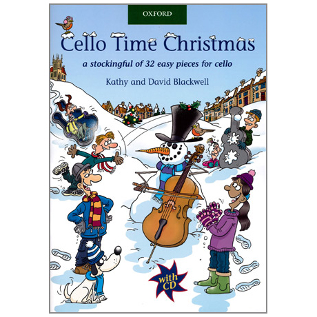 Blackwell, K. & D.: Cello Time Christmas (+CD)