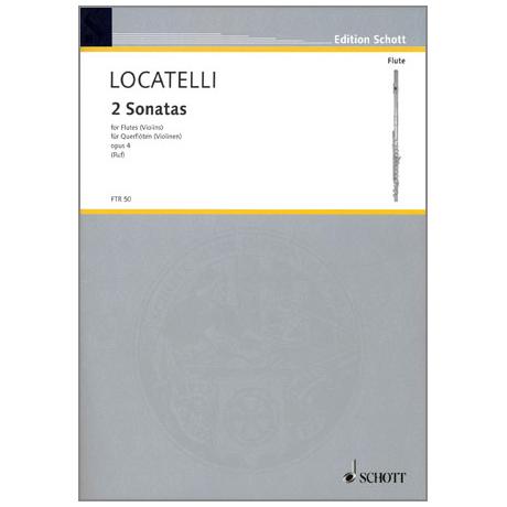 Locatelli, P. A.: 2 Duette — Violinsonatas Op. 4/4 & Op. 4/5