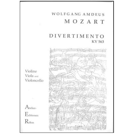 Mozart, W.A.: Divertimento in Es - Dur (KV 563)