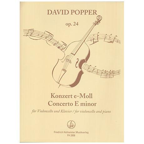 Popper, D.: Violoncellokonzert Nr. 2 e-Moll Op. 24