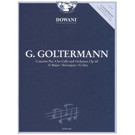 Goltermann, G.: Violoncellokonzert Nr. 4 Op. 65 G-Dur (+2 CD's)