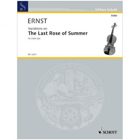 Ernst, H. W.: Variationen über »The Last Rose of Summer«