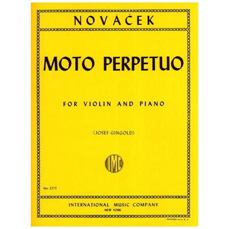 Novacek, O.: Moto perpetuo d-Moll