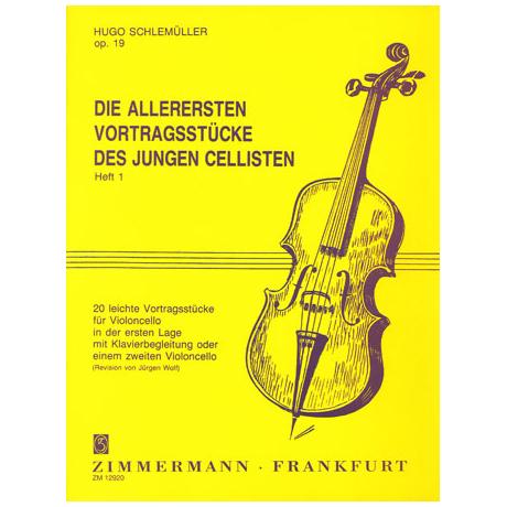 Schlemüller, H.: Die allerersten Vortragsstücke Op. 19 Heft 1