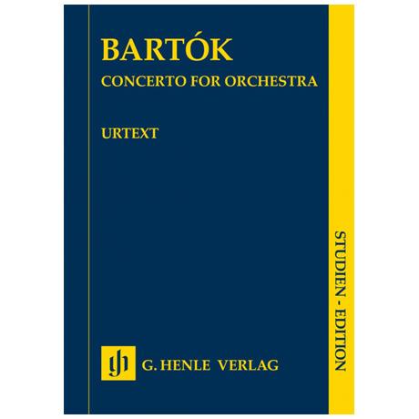 Bartók, B.: Konzert für Orchester