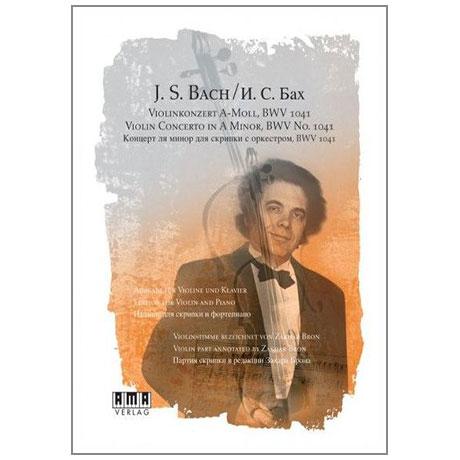 Bach, J. S.: Violinkonzert BWV 1041 a-Moll (+DVD)