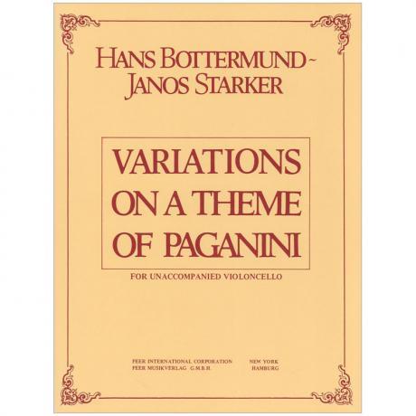 Bottermund, H.: Paganini-Variationen Op. 4 (Starker)