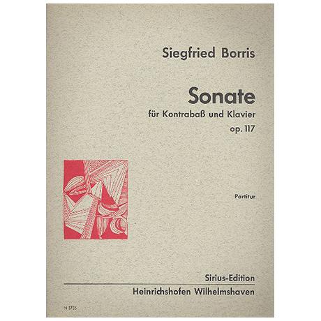 Borris, S.: Sonate Op.117