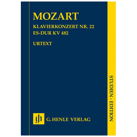Mozart, W. A.: Klavierkonzert KV 482 Es-dur