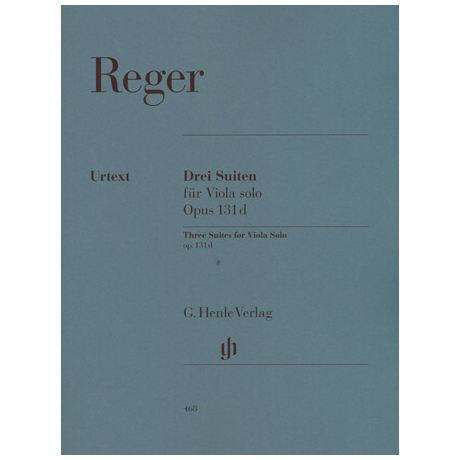 Reger, M.: 3 Suiten Op. 131d