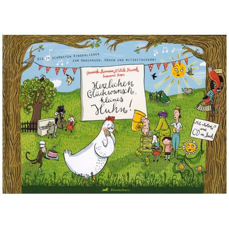Biermann: Herzlichen Glückwunsch, kleines Huhn! (+CD)