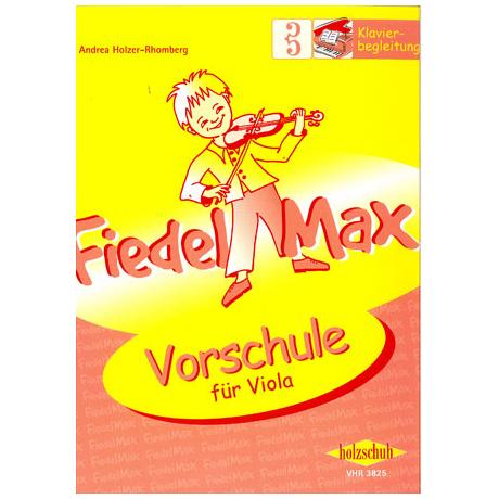 Holzer-Rhomberg, A.: Fiedel-Max für Viola Vorschule – Klavierbegleitung