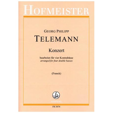 Telemann, G. Ph.: Kontrabasskonzert – TWV 40:202
