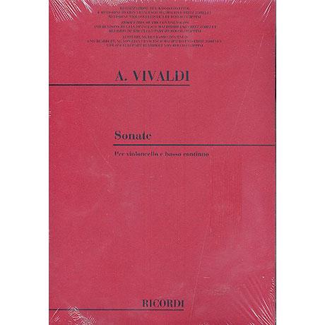 Vivaldi, A.: Sonate F.XIV:1 B-Dur