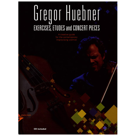Hübner, G.: Exercises, Etudes and Concert Pieces (+CD)