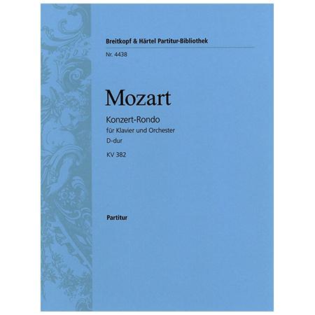Mozart, W. A.: Konzert-Rondo D-Dur KV 382
