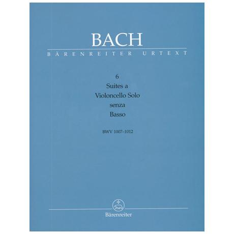 Bach, J. S.: 6 Suiten BWV1007- BWV1012