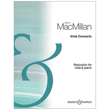 MacMillan, J.: Violakonzert
