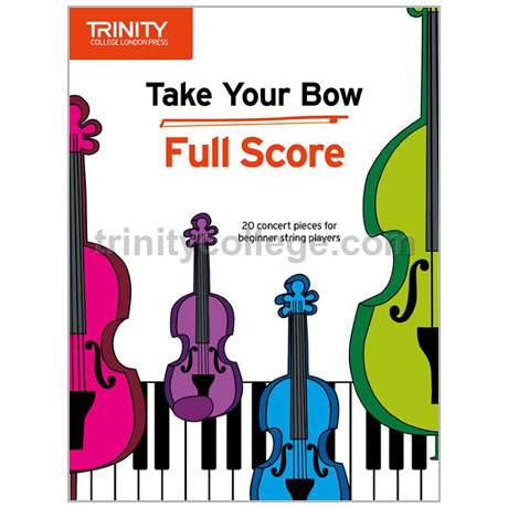 Take Your Bow – Partitur (+Online Audio)