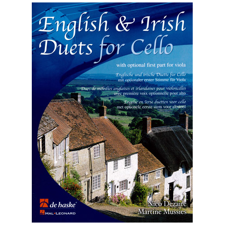English & Irish Duets for Cello