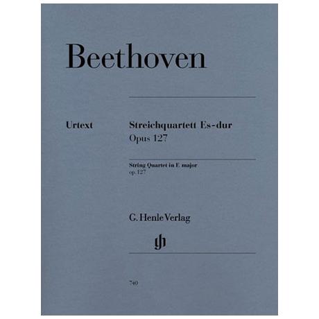 Beethoven, L.v.: Streichquartett Es-Dur Op. 127 Urtext