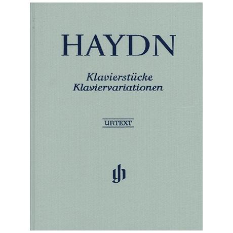 Haydn, J.: Klavierstücke, Klaviervariationen