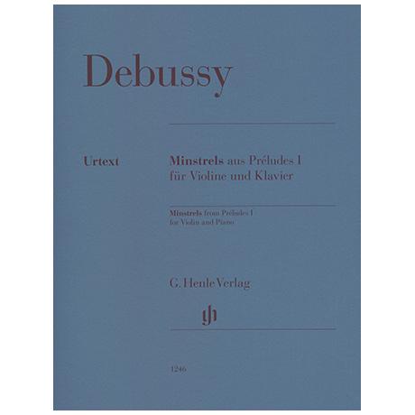 Debussy, C.: Minstrels aus Préludes I