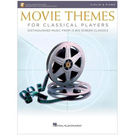 Movie Themes for Classical Violin Players (+Online Audio)