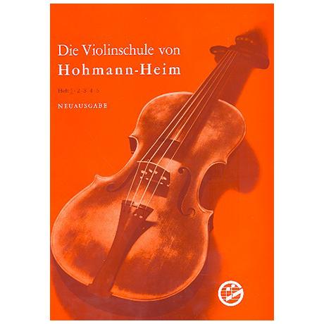 Hohmann, H./Heim, E.: Violinschule komplett (Bd. 1-5)