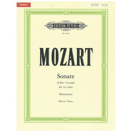 Mozart, W. A.: Klaviersonate KV 331 (300i) A-Dur