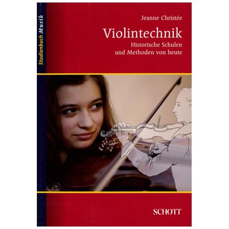 Studienbuch Musik – Violintechnik
