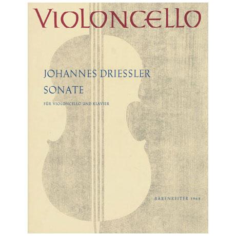 Driessler, J.: Sonate