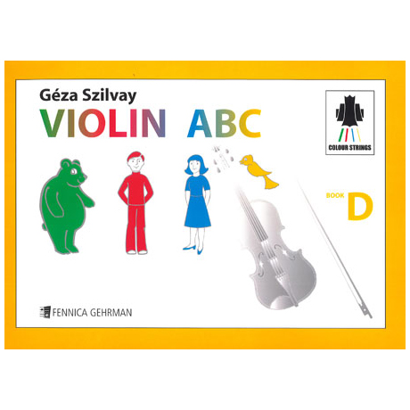 Colourstrings Violin ABC Book D