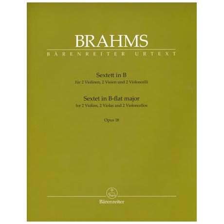 Brahms, J.: Sextett in B-Dur Op. 18