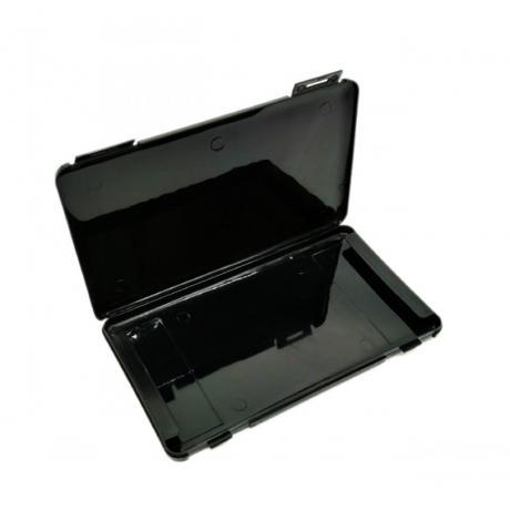 Aufbewahrungsbox für Masken schwarz