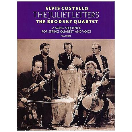 Costello, E.: The Juliet Letters – Partitur
