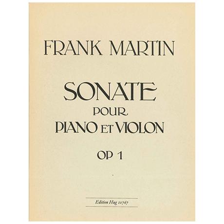 Martin, F.: Violinsonate Op. 1