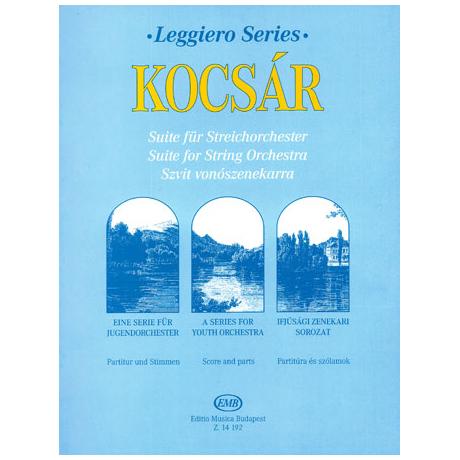 Kocsár, M.: Suite für Streichorchester