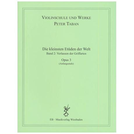 Taban, P.: Op.3: Die kleinsten Etüden der Welt Band 2