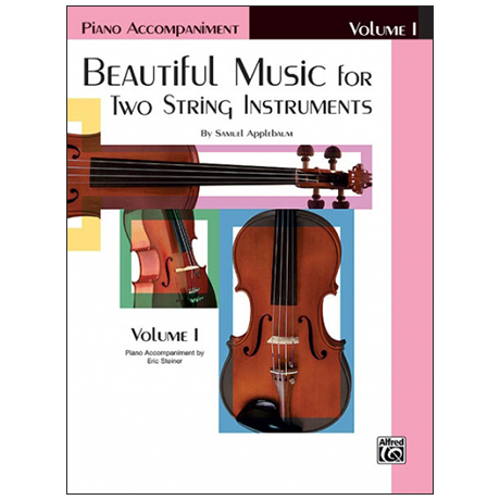 Applebaum, S.: Beautiful Music for two String Instruments Vol. 1 – Klavierbegleitung