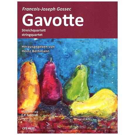 Gossec, F.-J.: Gavotte